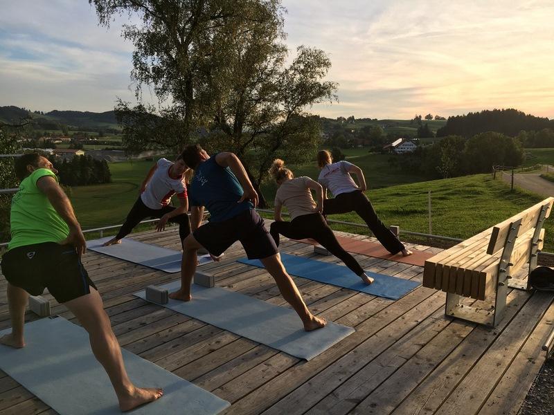 Yoga-Kurse für Sportler