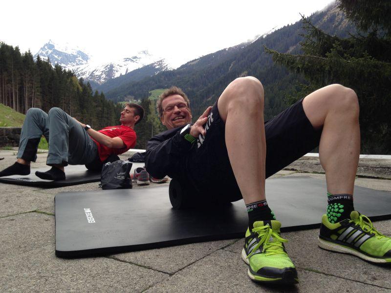 """Noch drei freie Plätze für den Kurs """"Yoga für Läufer""""- für Einsteiger geeignet"""