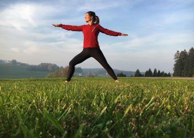 Yoga-Teilnehmer berichten von Erfolg
