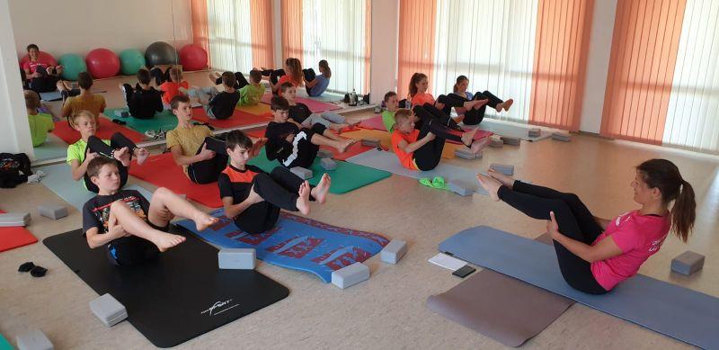 Yoga für Skisspringer und Nordische Kombinierer